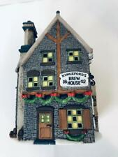 Heritage Dicken Village Collection Kingfords Brew House Department 56 Heritage