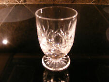 """Waterford Lismore Footed Juice Glasses 6 oz  4"""" Tall  Exc Cond!!  Up to 8 Avail."""