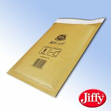 10 JL000 Jiffy Bags Padded Envelopes 90 x 145 A/000 bubble lined 10x gold small