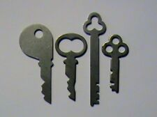Antique National Cash Register Keys -1,2,5,6 for 400 & 500 NCR