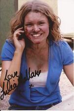 EMMERDALE * JULIA MALLAM ' DAWN WOODS ' SIGNED 6x4 ACTION PHOTO+COA