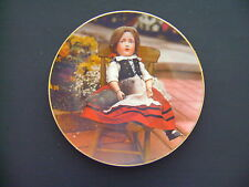 1981 The Doll Collection Plate Old German Dolls 'Elise' Mildred Seeley 1981