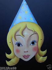 maschere carnevale anni 60 fatina fata karnevalsmasken carnival masks 60 years f