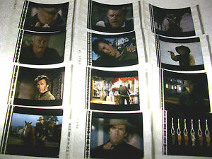HANG EM HIGH Film Cell Lot of 12 - collectibles compliments movie dvd poster