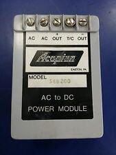 ACOPIAN 5EB200 AC TO DC  MODULE POWER SUPPLY