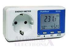 PeakTech 9035 Energiemessgerät Energiekostenmessgerät Strommessgerät Stromzähler