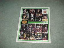 1986 Milwaukee Bucks Miller Lite Beer NBA Basketball Team Photo Poster