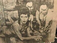 Super Rare David Bowie Diamond Dogs Lp cover Off-Set Print plate