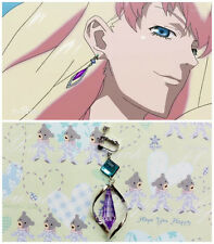 Macross F Frontier Sheryl Nome Cosplay 1PCS beautiful Ear Clip Earring Pendant