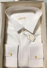 Camicia Uomo Desirèe Diplomat 100% Cotone Bianco Cerimonia  N.43