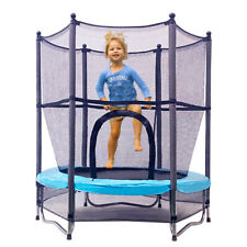 4.5ft  Kids Trampoline 55in Toddler Fitness Jumping Toy Indoor/ Outdoor/Baseroom
