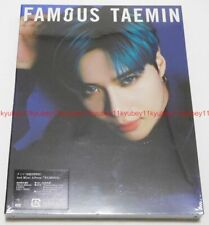 TAEMIN FAMOUS First Limited Edition Type B CD DVD Japan UPCH-29341 4988031343975