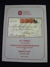 Gibbons ASTA 1988 tutti mondo stretto insediamenti Sarawak' Nunez' & Middle East