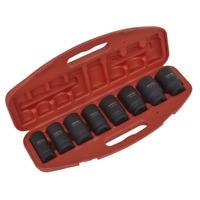 """Sealey Impact Socket Set 8pc Deep 3/4""""Sq Drive Metric - AK885"""