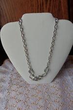 Sale Find Costume Jewelry Choker Napier Silver Retro Necklace Estate