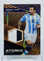 2019-20 Panini Obsidian Ezequiel Lavezzi Atomic Material Jersey Card #36/50