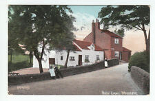 People & Houses High Lane Woodley Stockport Cheshire Photo Taken 1905 Valentines