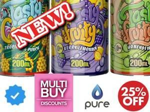Tasty Fruity 200 E Liquid Vape Juice Multi Discounts ml Sub Ohm Candy Ice