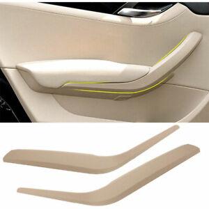Left +Right Car Interior Door Panel Handles Pull Trim Cover for BMW x1 E84 09-15