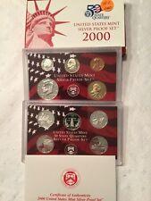 2000 United States Mint Silver Proof Set OGP  #SP2