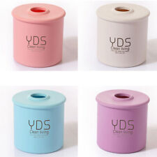 Plastic Tissue Box Cover Cylindrical Paper Case Holder Storage Home Decor Surpri