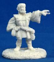 Reaper Miniatures Dark Heaven Bones Balto Burrowell Gnome Wizard RPR 77166
