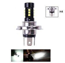 LED H4 pour scooter moto ampoule Blanc CREE 6000K pour phare avant Lampe 12V