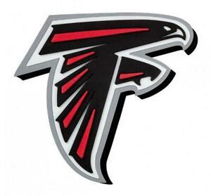 Atlanta Falcons XXL Relief 3D Look Magnet Foam Logo NFL Football