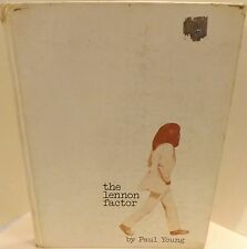 BEATLES, The Lennon Factor by Paul Young (1972, Hardcover)