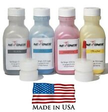4 Toner Refill Kit for Samsung CLT-504S CLX-4195F SL-C1860FW CLP-415NW + 4 Chips