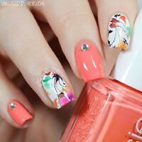 2Sheets Manicure Wraps Nail Art Water Decal Transfer Stickers BORN PRETTY BP-W04