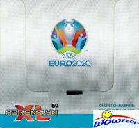 2020 Panini Adrenalyn UEFA EURO Soccer HUGE 50 Pack Factory Sealed Box-400 Cards