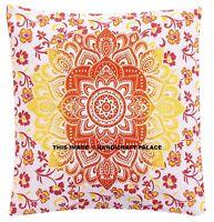 Mandala de India Bohemio Manta Funda Almohada Algodón Decoración Hogar Cojín
