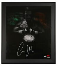 "CONOR McGREGOR Autographed ""In Focus"" Framed 20 x 24 Photograph FANATICS"