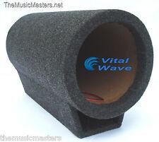 "8"" inch Empty Torpedo Turbo Bass Tube Sub Woofer Car Audio Speaker Box Vwltw"