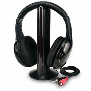 Rybozen Wireless TV Headphones Home Headset for TV Watching,TV Ears Microphone