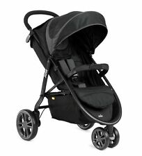 JOIE Litetrax 3 Wheeler Stroller / Pushchair Midnight