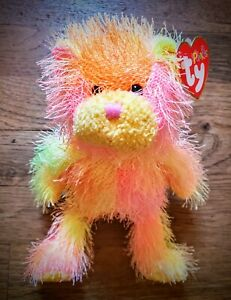 ☆Rainbow☆ The Punkies Collection by Ty ♡Perfect Condition♡ 2002/2004 (Retired)