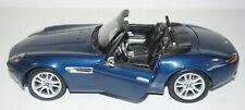 Maisto BMW Z8 1:18 Scale Convertible Diecast Car Dark Blue