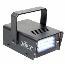 NEW CHAUVET DJ CH730 LED Adjustable 1-12 Flash/Sec Mini Strobe Club Light Effect