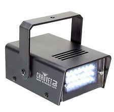 NEW CHAUVET DJ CH730 LED Adjustable 1-12 Flash/Sec Mini Strobe Club Light Effect
