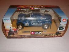Buggy Schlesser 2000 Renault African Safari 1:26 Scale Diecast Bburago Truck Car