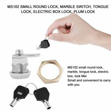 Drawer Tubular Cam Lock For Home Important Items Security With 2 Keys MS102 DE