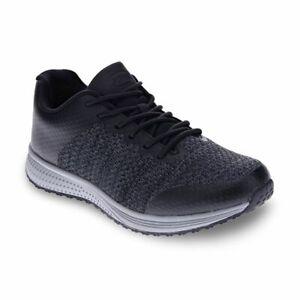Orthaheel Scholl Orthotic Men's Everest Sneaker - Black/Grey