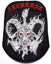 archgoat  EMBROIDERED  PATCH