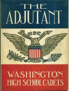 1945 Adjutant - Washington DC High School Cadets 58th Annual Competitive Drill