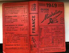 +++++Guide Michelin 1949 ++++++