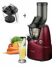 Kuvings Estrattore Succo B6000 Rosso con Optional SPREMIAGRUMI-Whole Slow Juicer