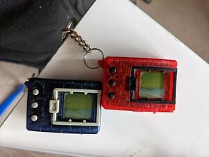1997 digimon red and blue - untested have been in a box since the 90s
