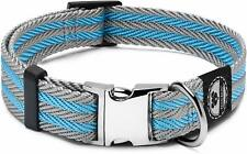 Pet Collar with Metal Buckle | Dog Collar is Soft and Comfortable. | Adjustable